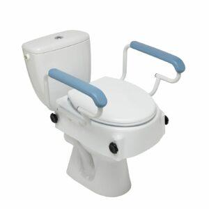 Altia állítható magasságú wc magasító, fedéllel és felhajtható karfával (8,5cm, 12,5cm, 16,5cm) 100kg-ig bélyegképe