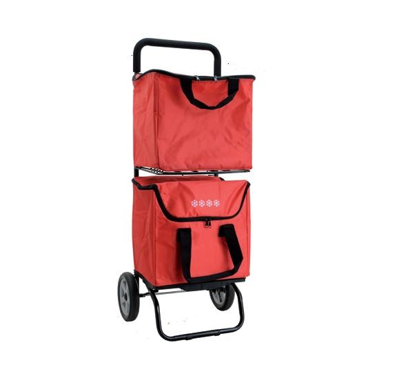 BIBAGCAR ultrakönnyű bevásárlókocsi 30kg-ig, 3év garanciával